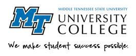 Middle Tennessee State University - Banner